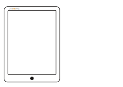 Ipad Wireframe Vector